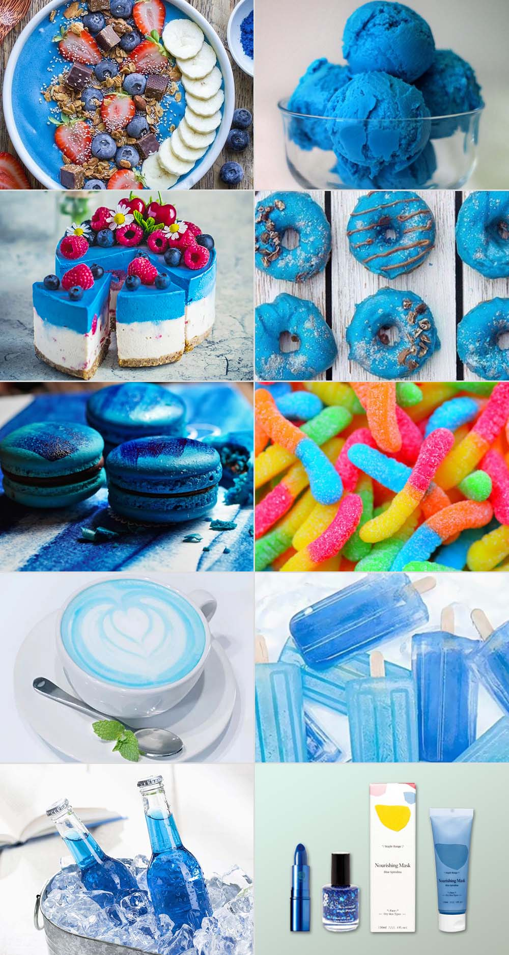 Blue Spirulina Products