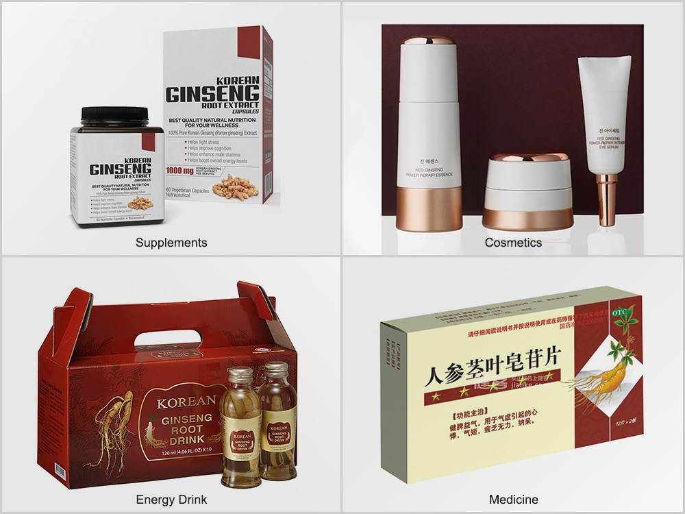 Ginseng Extract Final Products