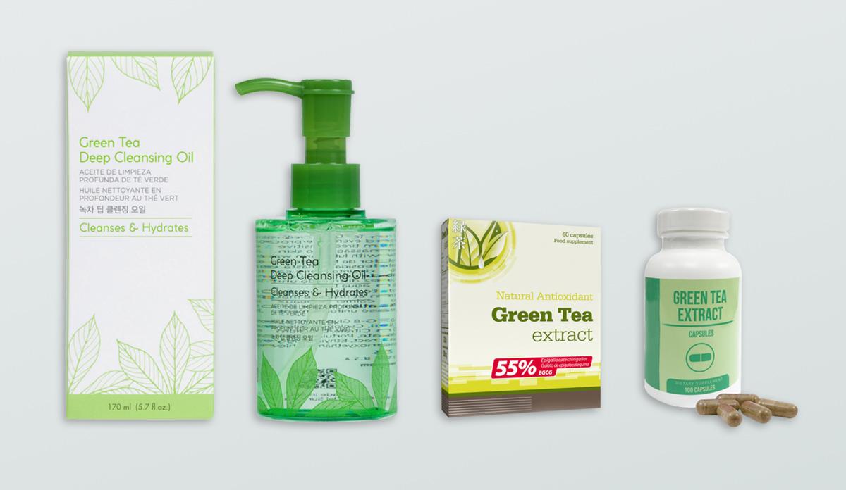 green tea extract uses
